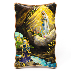 laminate Lourdes Wall Plaque.