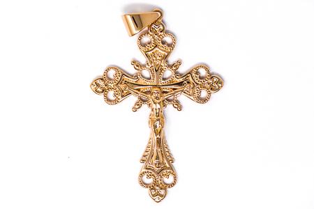 Crucifix Pendant for a Man.