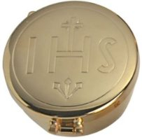 Gold Pyx IHS Design .