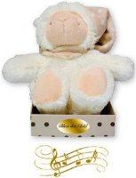 Musical Baby Lamb Plush Bear.