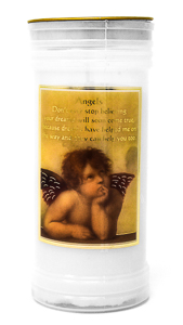 Angel Pillar Candle.