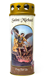 Saint Michael Candle.