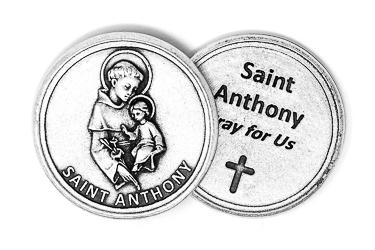 Pocket Token Saint Peregrine.