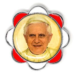 Pope Benedict Car Plaque..
