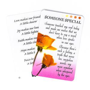 Prayer Card - Someone Special.