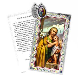 Prayer Card to St Joseph.