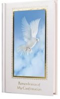 Confirmation Dove Prayer Book.