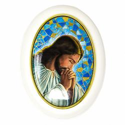 Rosary Box Depicting Jesus.