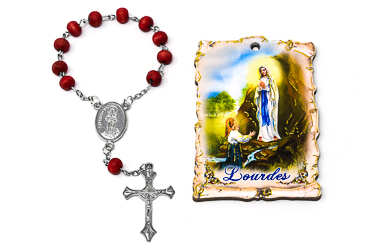 Rose Scented Decade Rosary.