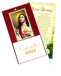 Sacred Heart of Jesus 2022 Calendar.