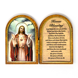 House Blessing Wood Plaque.