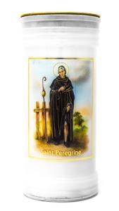 St. Martin  De Porres Pillar Candle.