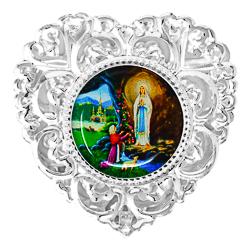 Heart Rosary Box.