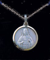 Sacred Heart of Jesus Necklace.