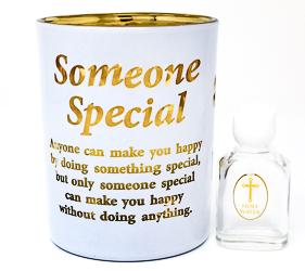 Someone Special Glass Votive Light Holder