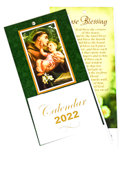St. Anthony 2022 Standing Calendar.