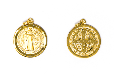 St Benedict Solid Gold Medal.