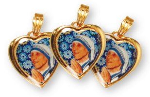 St Teresa of Calcutta Heart Medal.