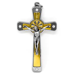 Swarovski Metal Crucifix.
