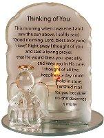 Angel Candleholder - Thinking of You.