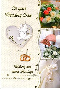 Divine Christian Gifts Congratulations On Your Wedding Card