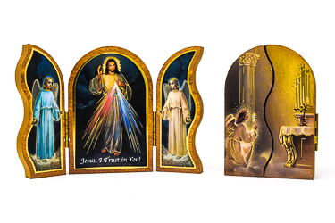 Divine Mercy Wood Plaque.