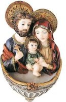 Madonna & Child Holy Water Font.
