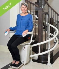 Savaria Stairfriend Curved Stairlift