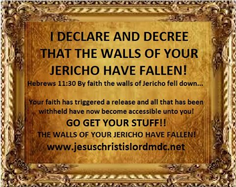 https://jesuschristislordmdc net - I DECLARE AND DECREE THAT THE