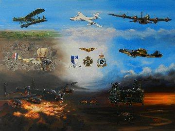 7 Squadron Centenary Print