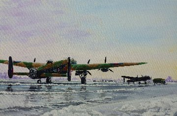 7 Squadron Lancasters, Oakington 1943