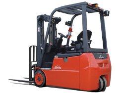 Linde E18 3-Wheel Forklift