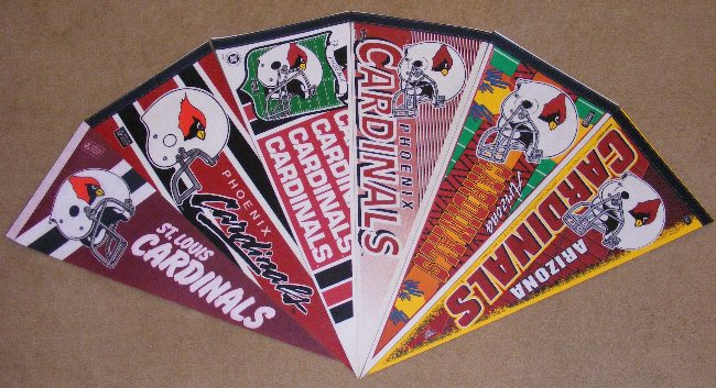 NFL 6 pack Old Style Pennants