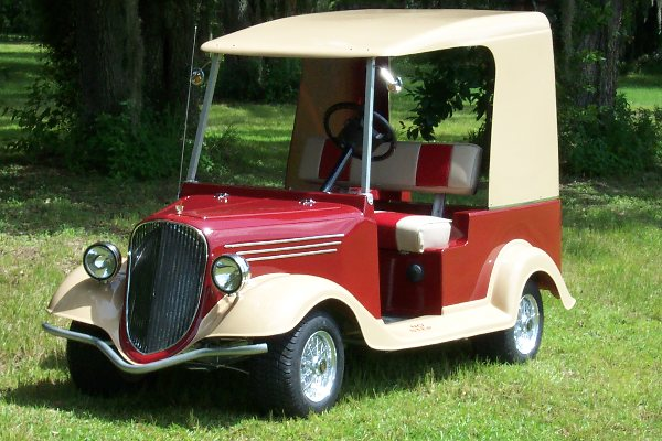 The Gangster Custom Golf Cart Body Kit Mgc 32632