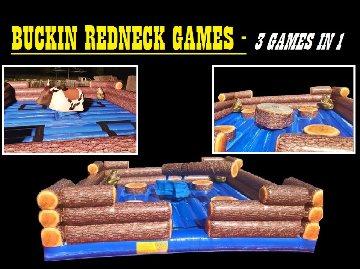 BUCKIN REDNECK GAMES 3 IN 1
