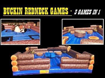 Buckin' Redneck Games Package: