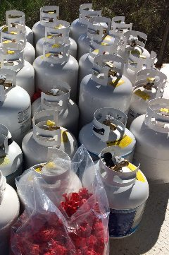 Refill Service of Propane Cylinders