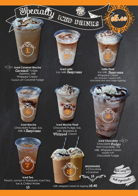 Specialty Hot Chocolate Drinks