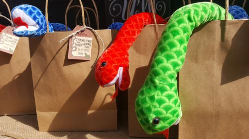 Reptile Party Gift Bags