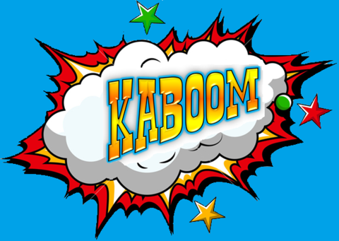 KABOOM TNT KIDS CASTLE
