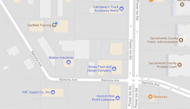 Sacmed Training Sacramento Cna School Maplocation
