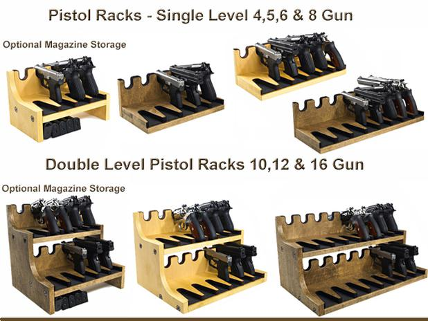 Custom orders welcomed give us a call to discuss your needs. (see pictures below and on Custom Gun Racks Page)  sc 1 th 194 & Quality Rotary Gun Racks quality Pistol Racks - Gun Rack - Rotary ...