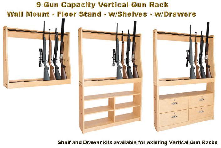 Vertical Gun Rack