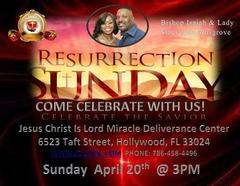 JOIN US FOR RESURRECTION SUNDAY 2014.  4/18/14