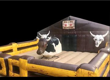 THE WILD WEST MECHANICAL BULL