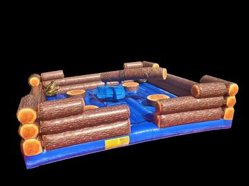 THE LOG SLAMMER / WIPE OUT GAME