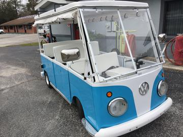 Vw Bus Golf Cart 24 999