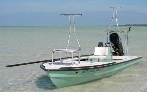 Hells Bay Skiff With Lean Rails