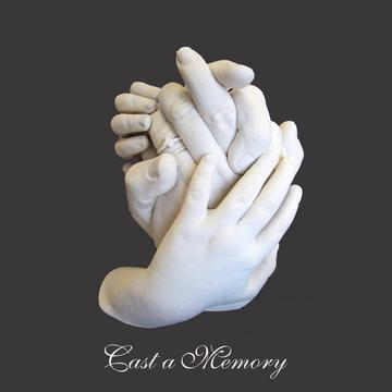 freestanding hand sculptures and casting by cast a memory australia