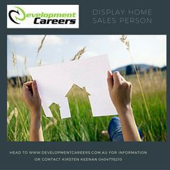 Display Homes Sales Person